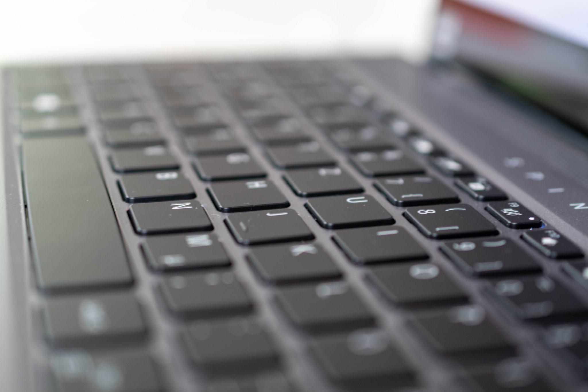 Acer Spin 5 keyboard