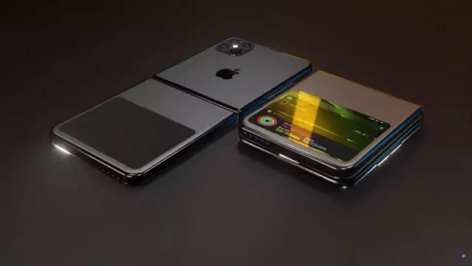 foldable Apple iPhone via ios beta news