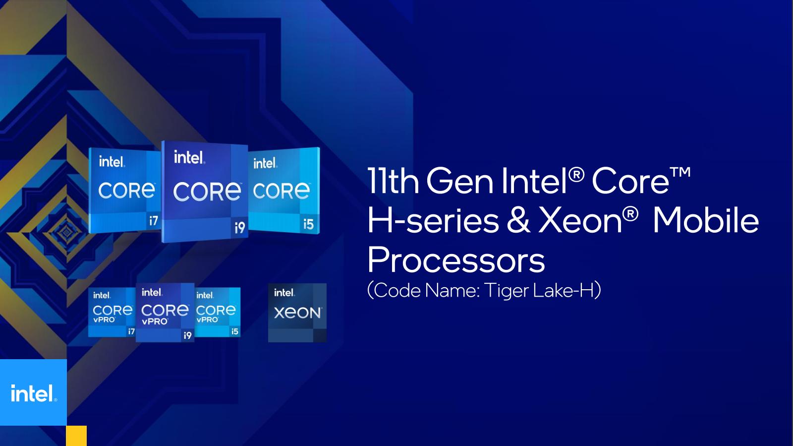 Intel Tiger Lake-H45-Prozessoren: Ordentlich Tiger im Tank