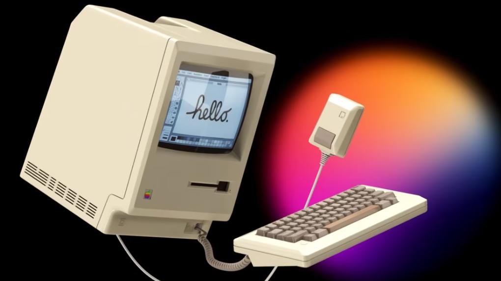 Original Apple Macintosh bekommt einen inoffiziellen Werbespot
