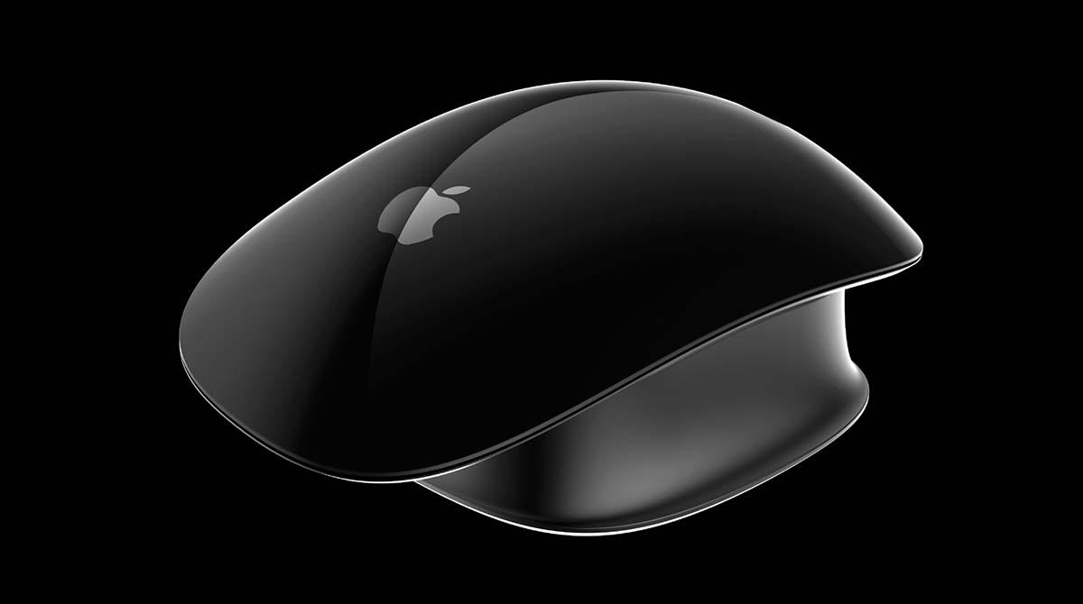 Bitte nicht: Konzeptzeichnung einer Apple Pro Mouse