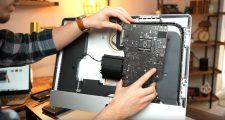 Apple iMac Intel Core i9 via Luke Miani on YouTube LogicBoard