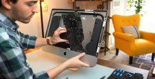 Apple iMac Intel Core i9 via Luke Miani on YouTube Mainboard