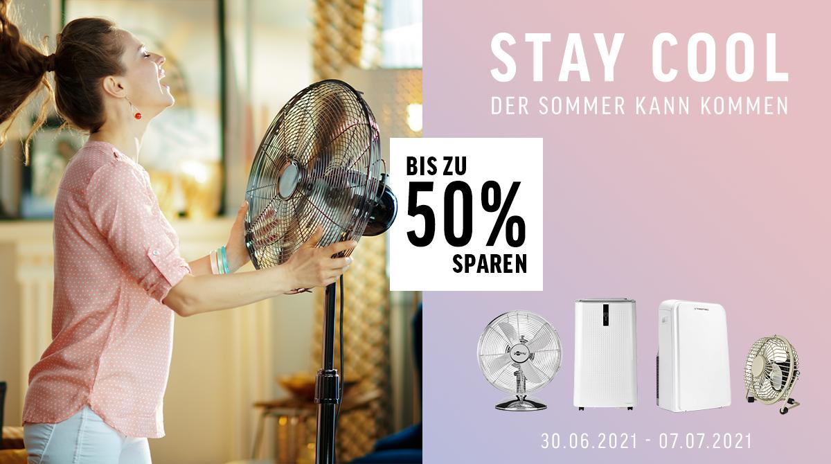 Stay Cool – Der Sommer kann kommen