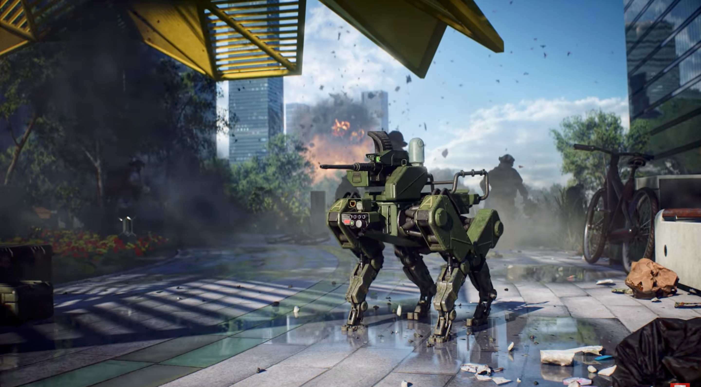 Battlefield 2042 Reveal Dogo