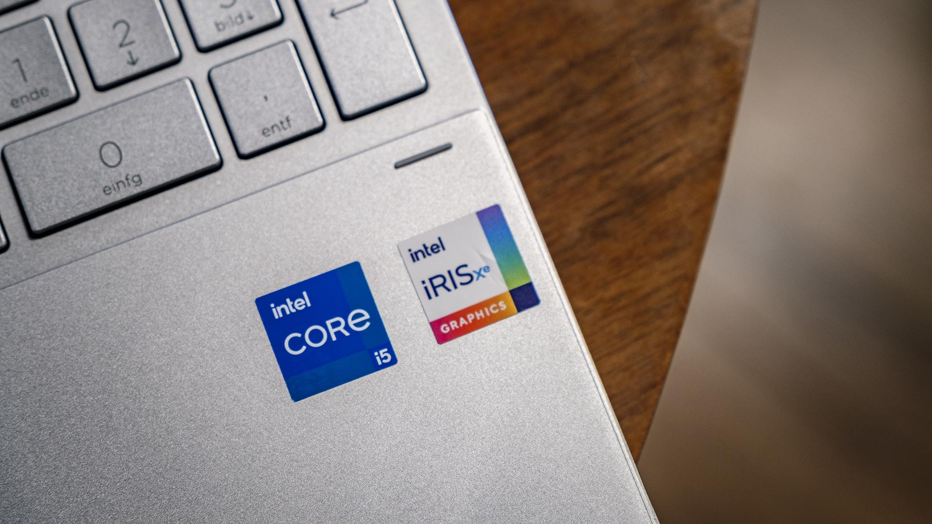 HP ENVY x360 15 Intel Core i5-1135G7 Intel Iris Xe Logo 2