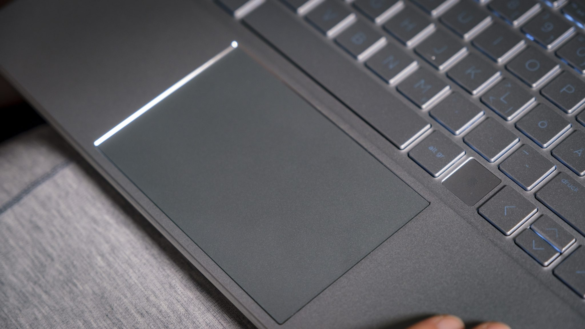 HP ENVY x360 15 Touchpad