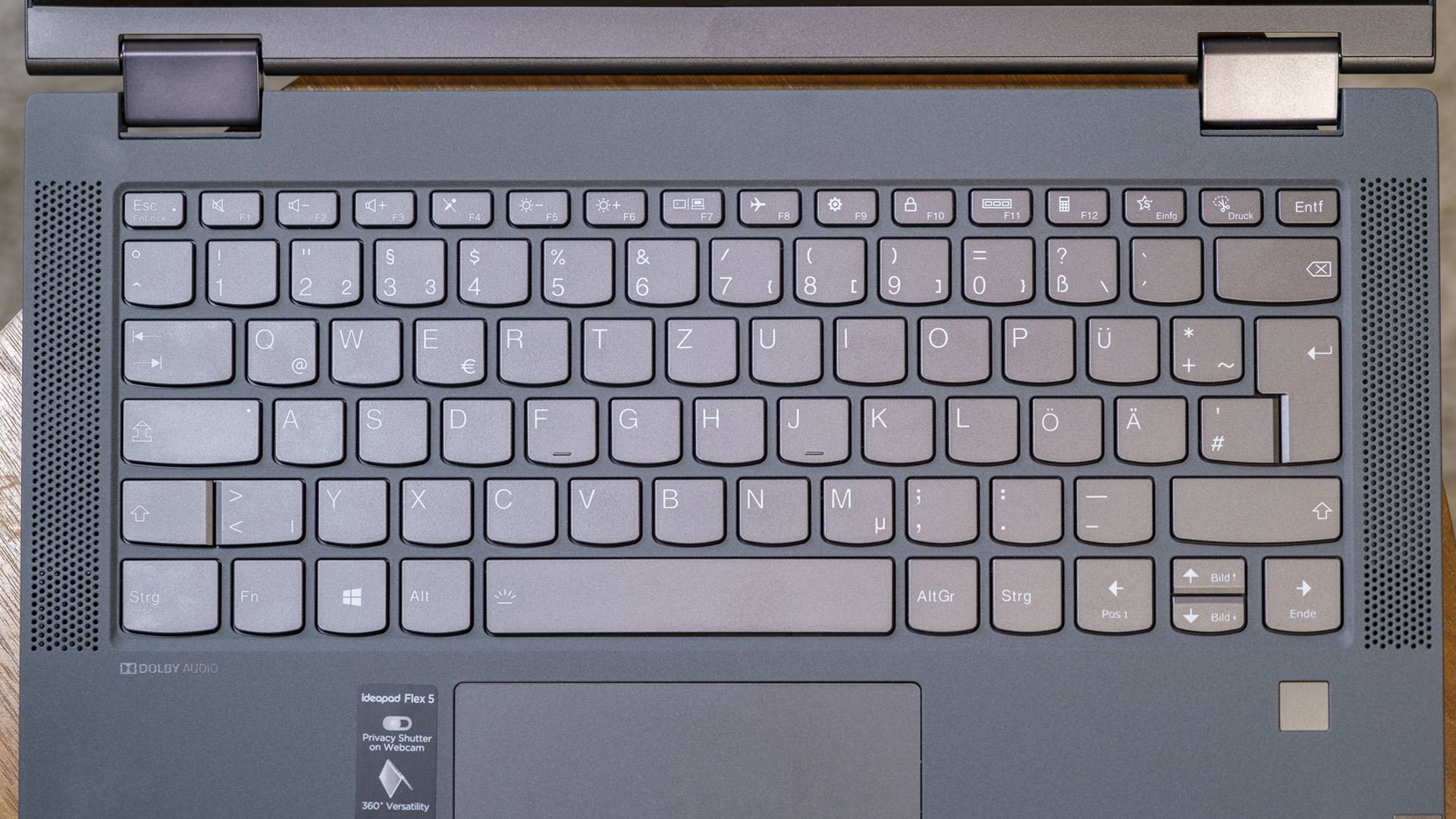 Lenovo IdeaPad Flex 5 AMD Ryzen 5700U Tastatur