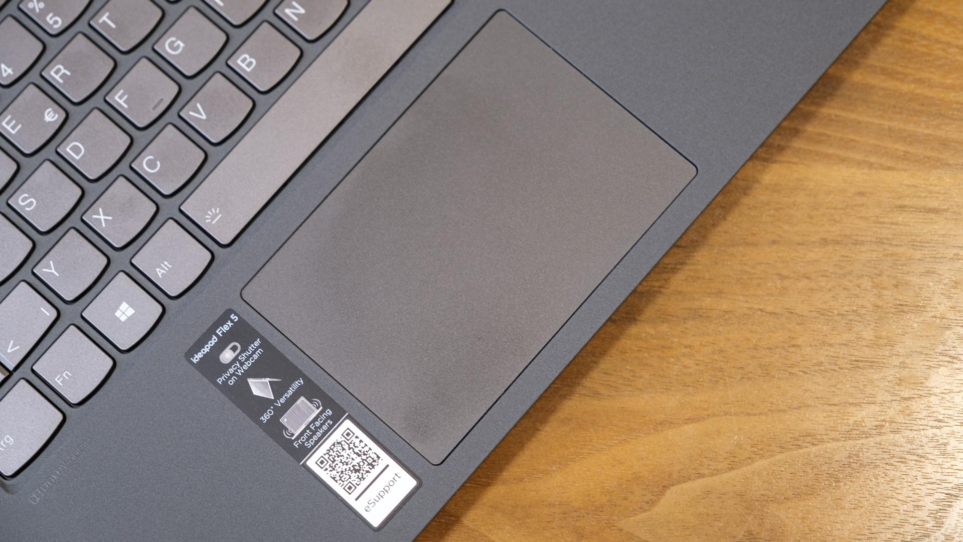 Lenovo IdeaPad Flex 5 AMD Ryzen 5700U Touchpad
