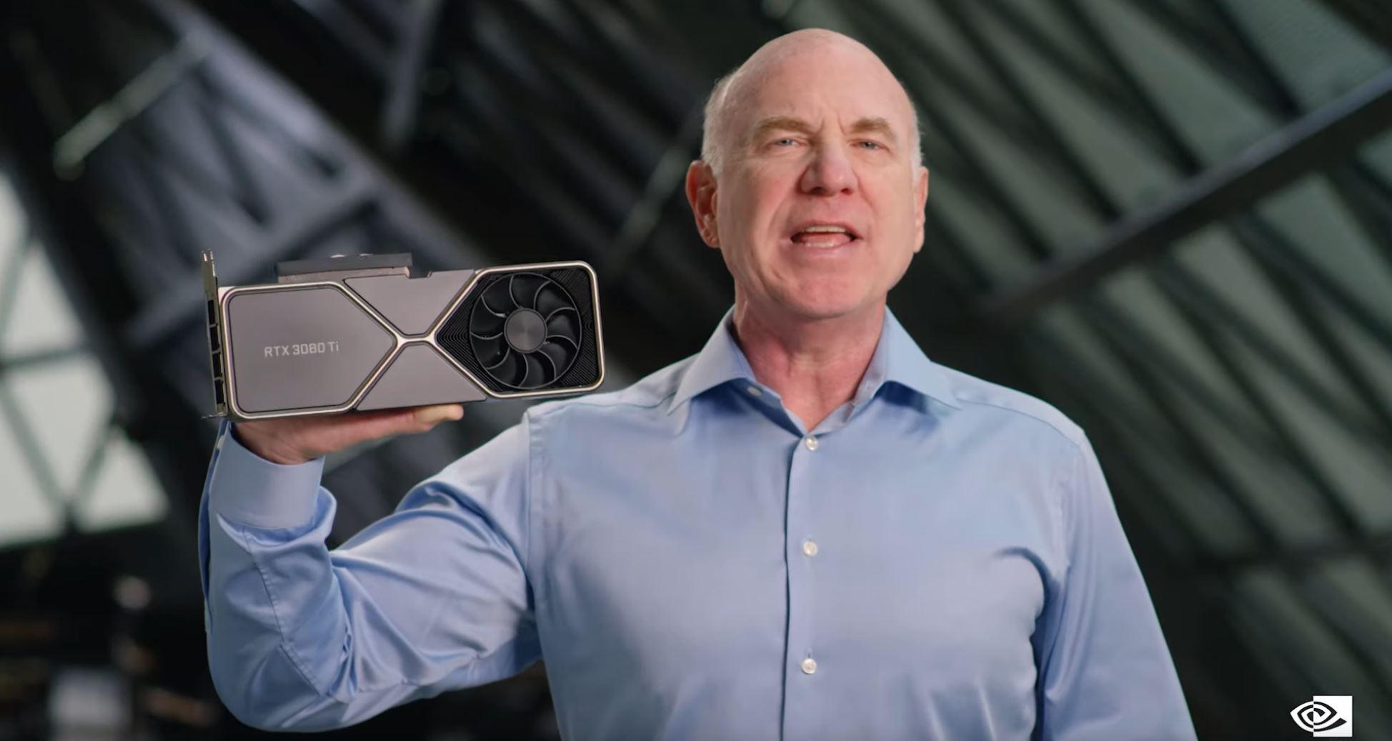 Nvidia GeForce RTX 3080 Ti, RTX 3070 Ti Presentation via Nvidia on YT 3