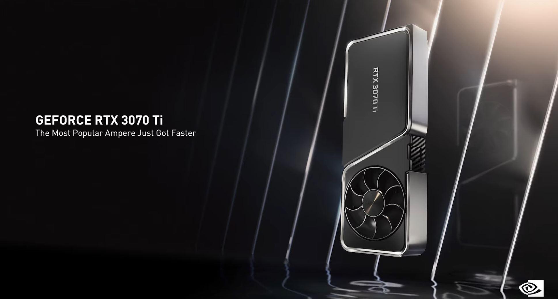 Nvidia GeForce RTX 3080 Ti, RTX 3070 Ti Presentation via Nvidia on YT 4