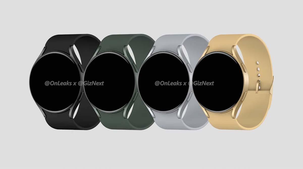Leak: Samsung Watch Active 4 zeigt sich in neuen Rendern