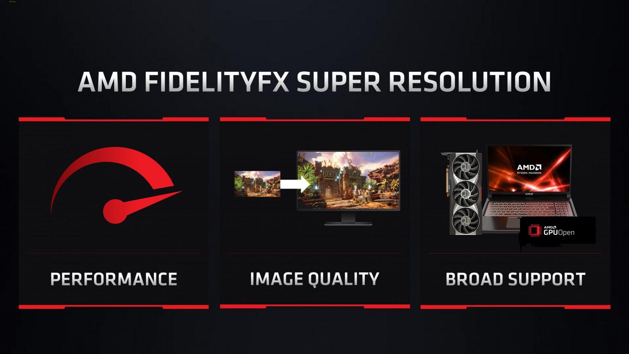 AMD Super Resolution basiert teilweise auf altem Nvidia-Filter