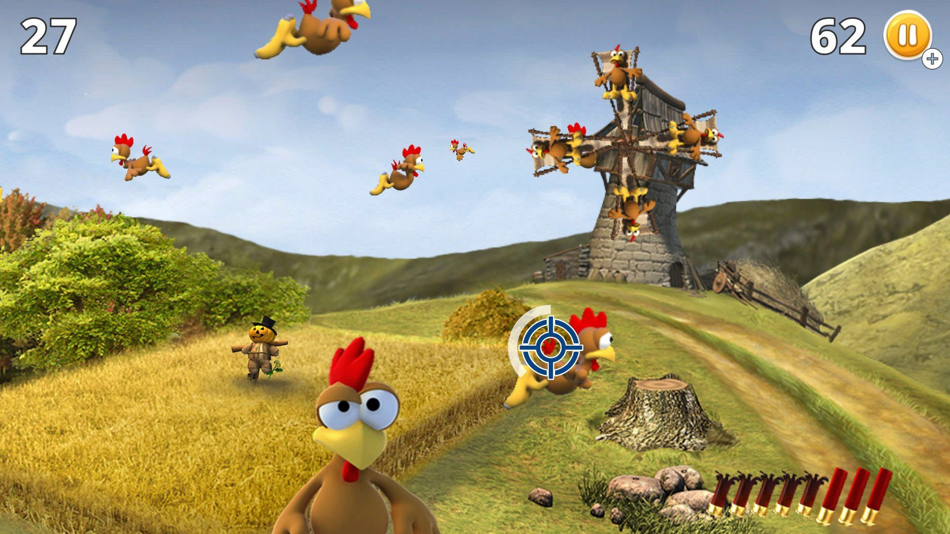 Endlich Next-Gen: Moorhuhn für PS5 und Nintendo Switch