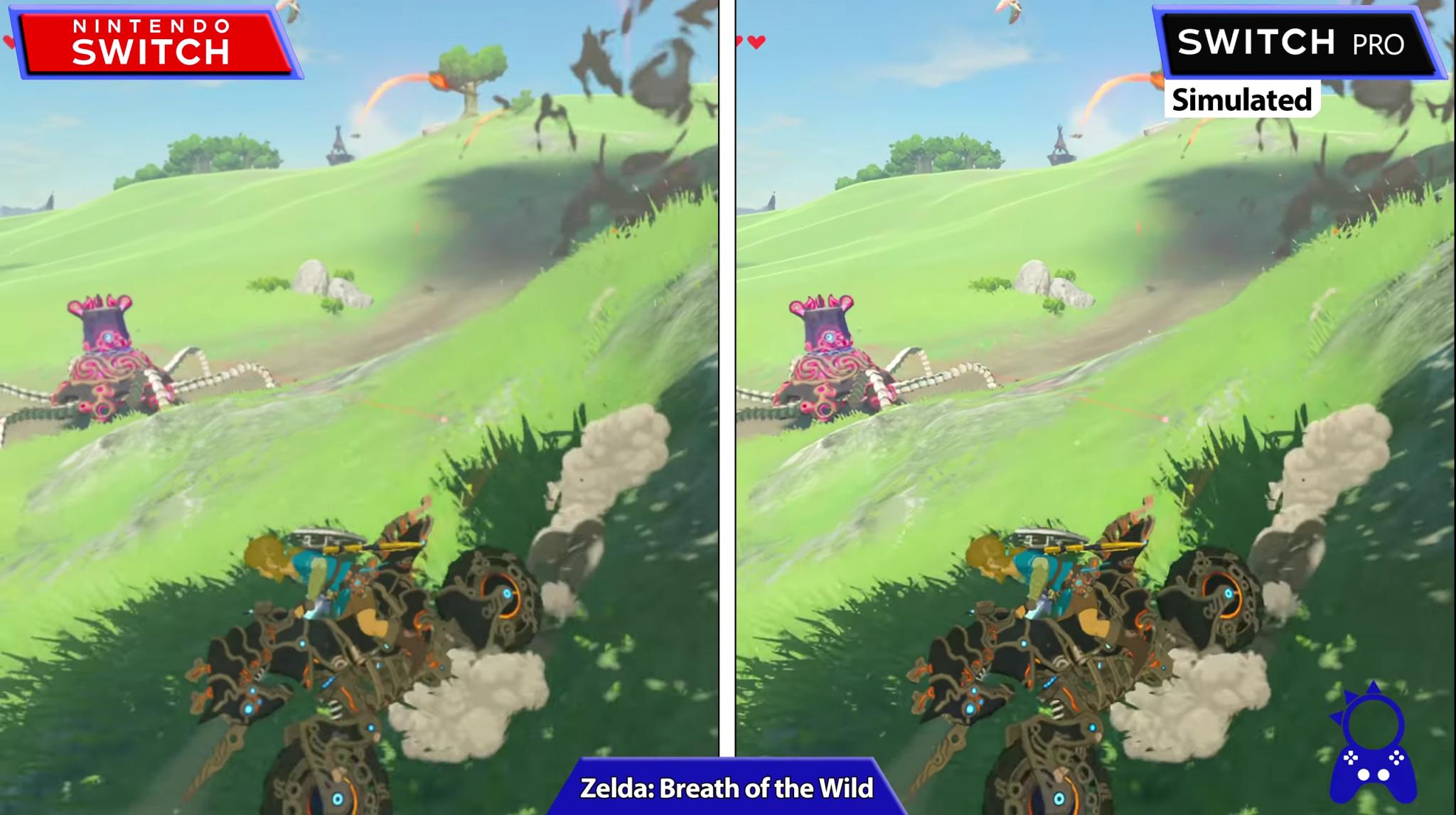 So gut könnten Spiele auf einer Nintendo Switch Pro laufen