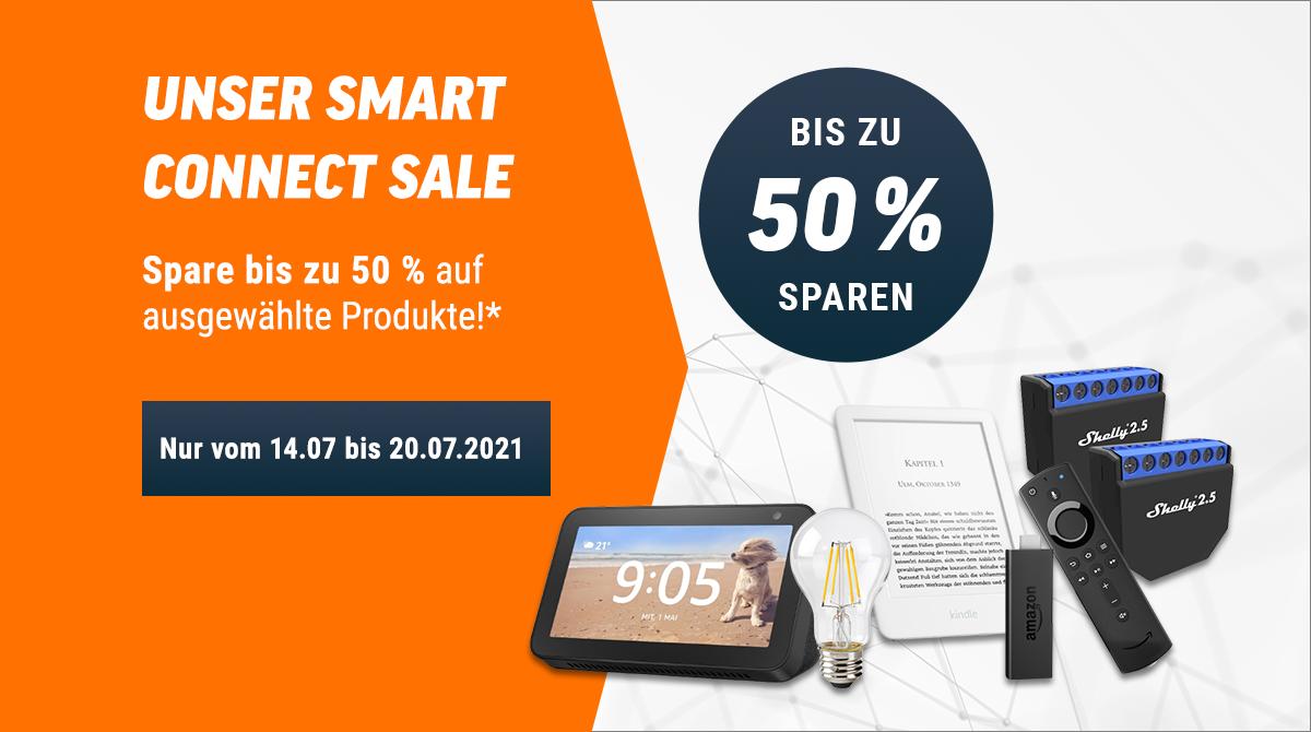 Spare bis zu 50% bei unserem Smart Connect Sale