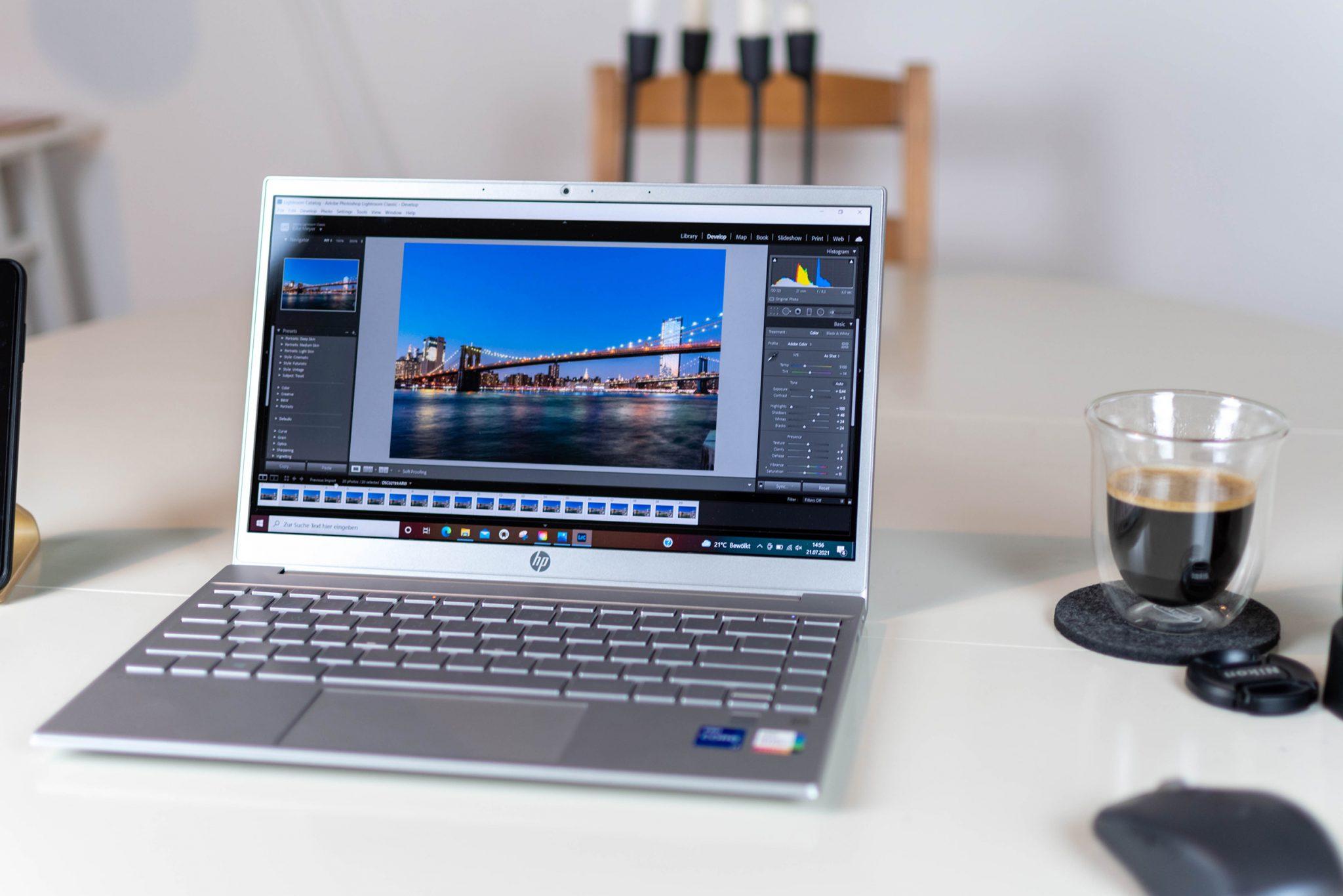 HP Pavilion 13 im Test - kompaktes Allround-Notebook