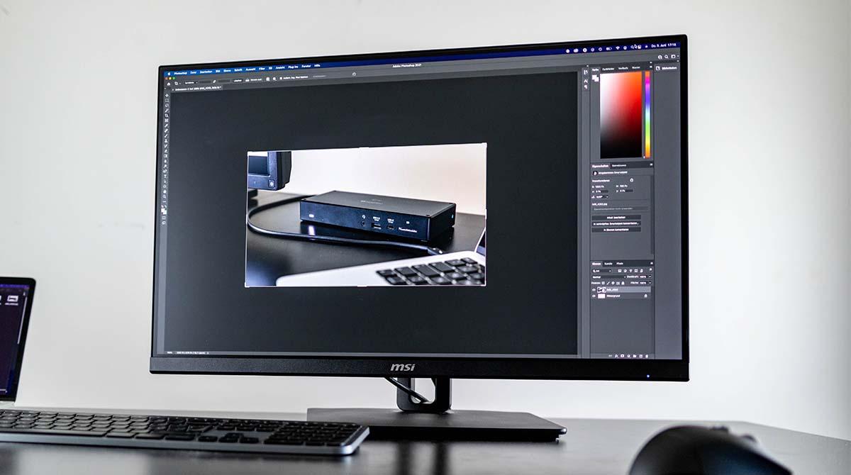 MSI PRO MP271QPDE im Test: ergonomischer 1440p-Monitor fürs Home Office