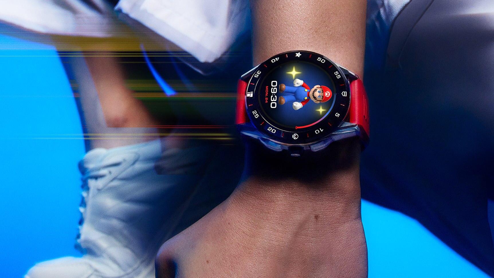 Sonderedition: TAG Heuer stellt Mario-Swartwatch für mehr als 2000 Euro vor
