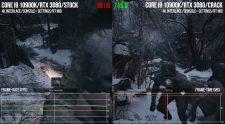Resident Evil Village Frametimes via Digital Foundry 2