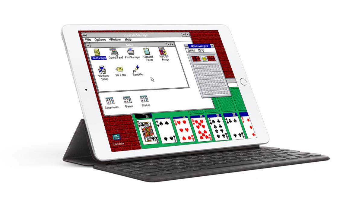 """Retro: Mit der """"iDOS""""-App Windows 3.1 auf dem iPad installieren"""