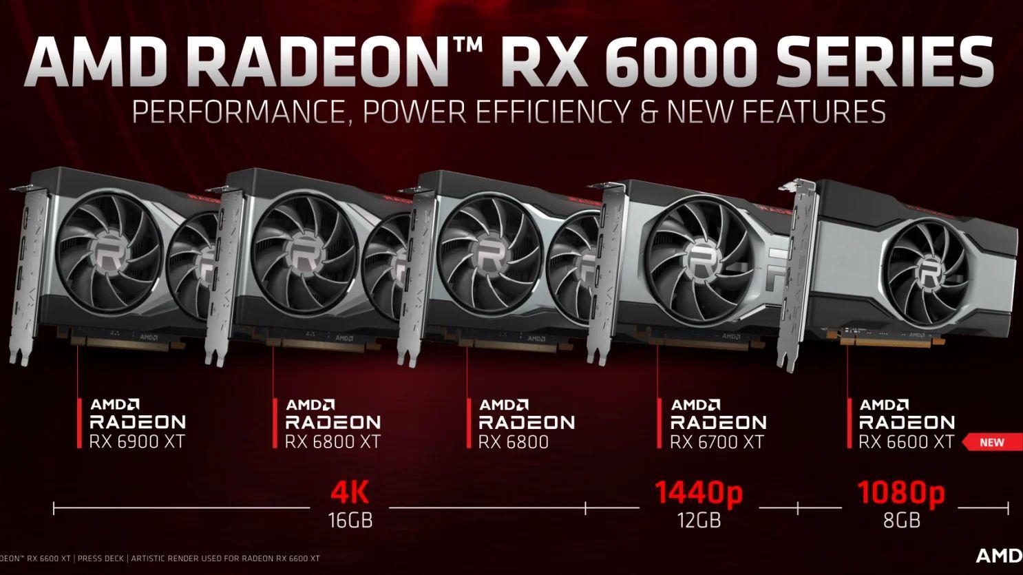 AMD zeigt die Radeon RX 6600 XT für knapp 380 Euro