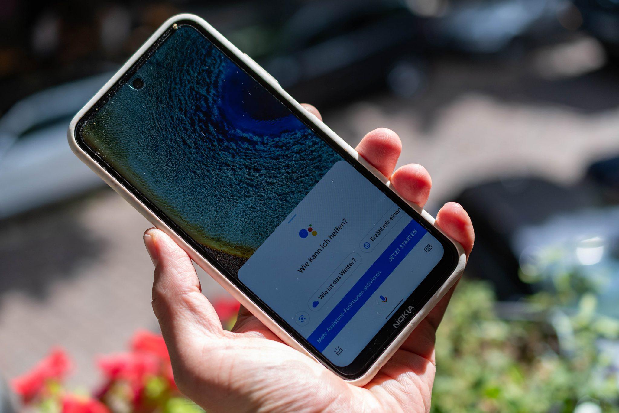 test mittelklasse-smartphone nokia x10 für 300 euro