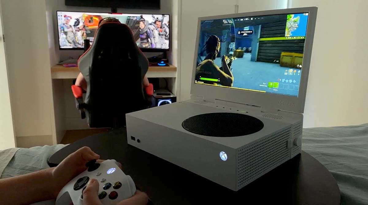 Kickstarter: xScreen verwandelt Xbox Series S in einen Laptop