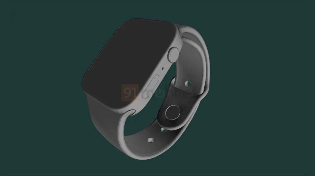 Leak: Design der Apple Watch Series 7 durch CAD-Render bestätigt