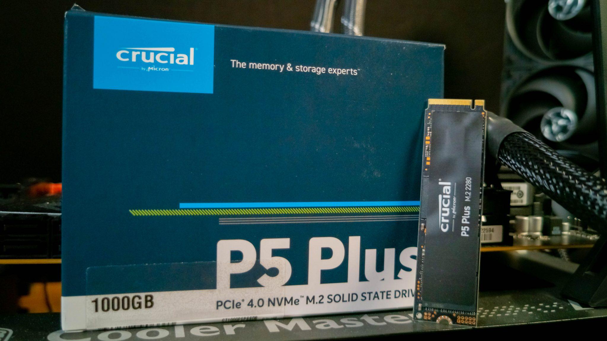 Crucial P5 Plus im Test – Endlich mit PCIe 4.0