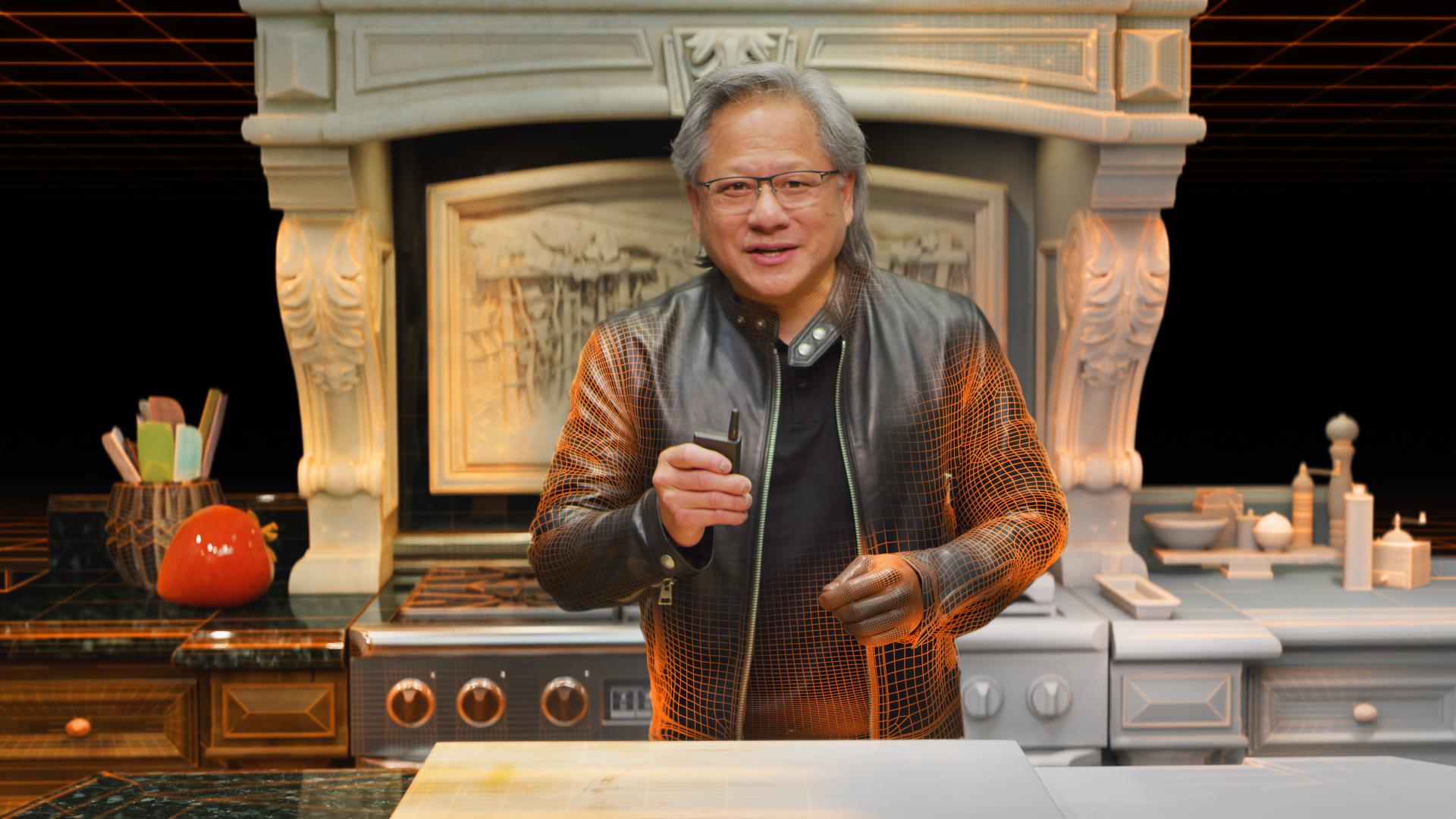 Nvidia trollt uns alle: CGI-Chef moderiert GTC – und niemand merkt es