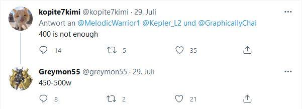 Nvidia ADA Lovelace AMD Kopite7Kimi Greymon55 via Twitter