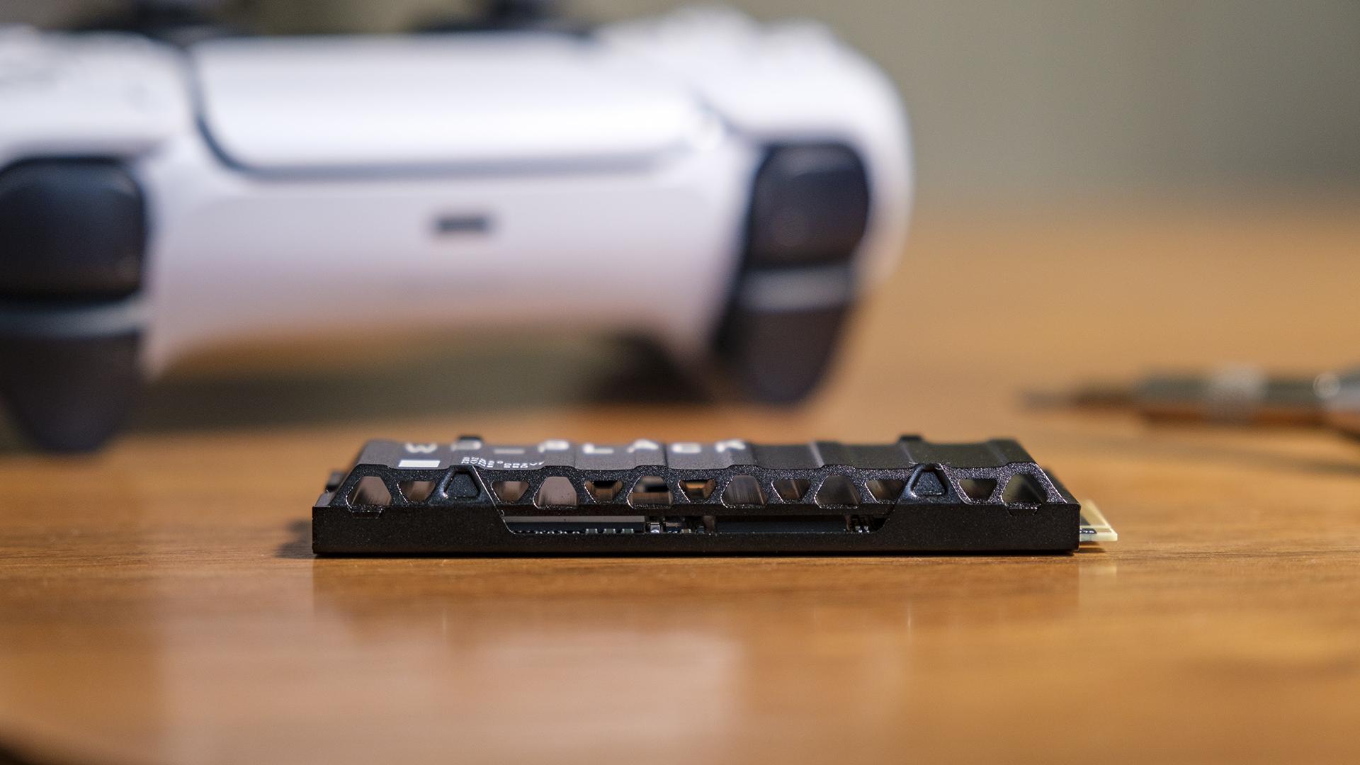 PlayStation 5 WD Black SN850 Game Drive PS5 Höhe 2 Kühler SSD