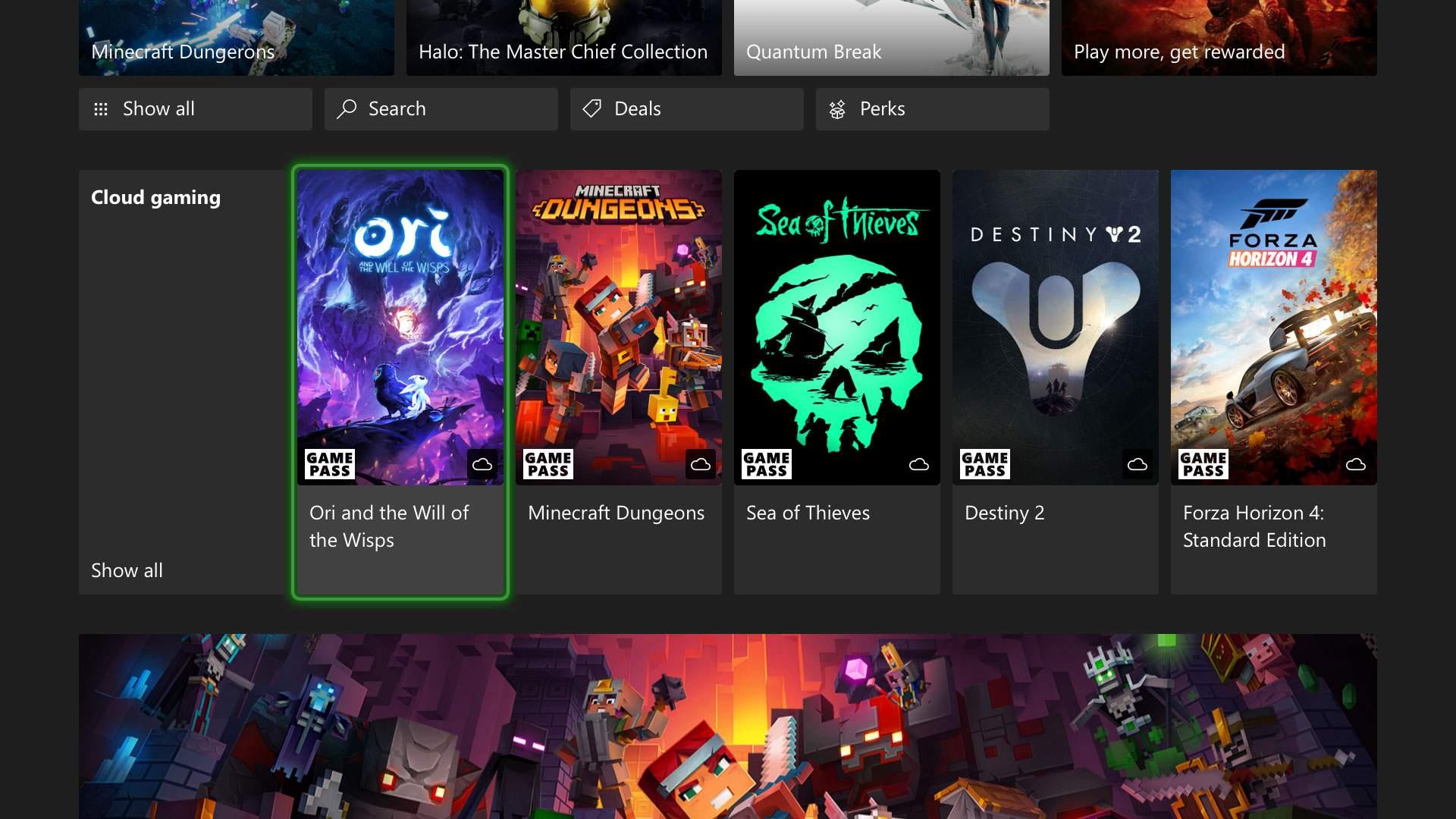 xCloud: Cloud Gaming kommt für Xbox One & Series S/X