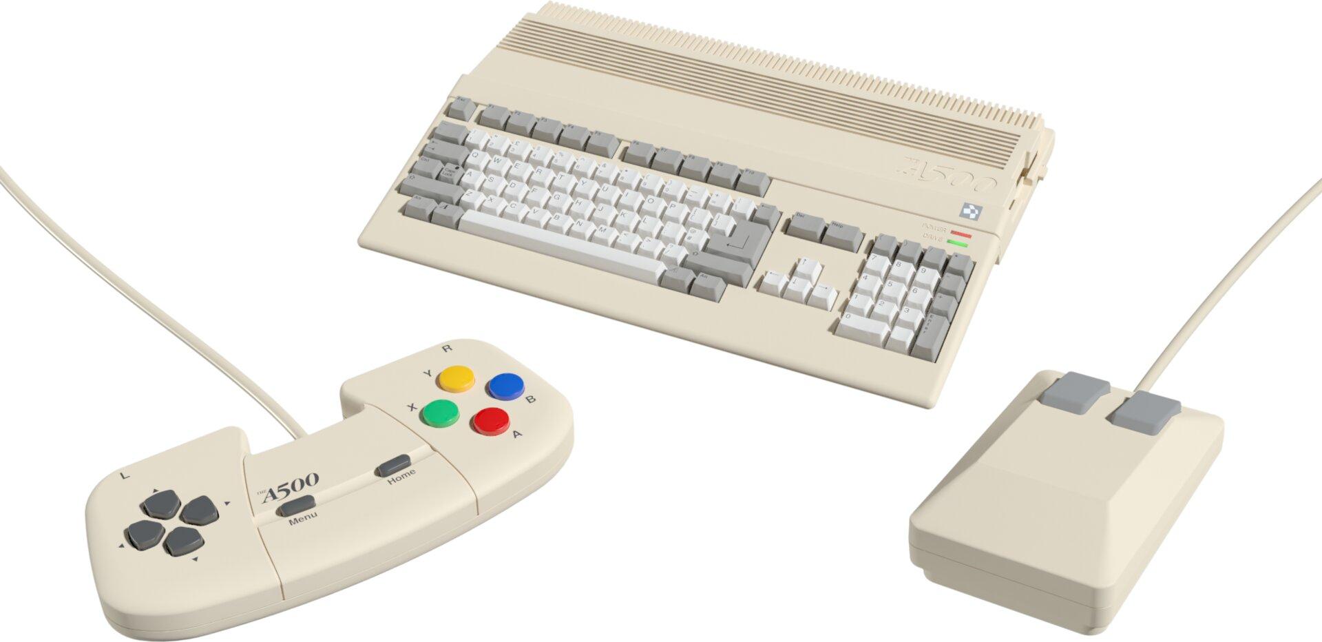 Commodore Amiga 500: Neuauflage als THEA500 Mini