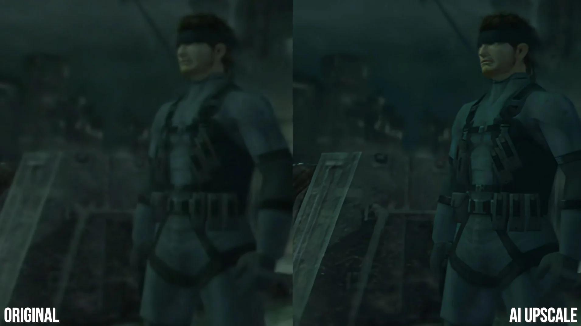 Fan restauriert Trailer von Metal Gear Solid 2 in 4K & hübsch