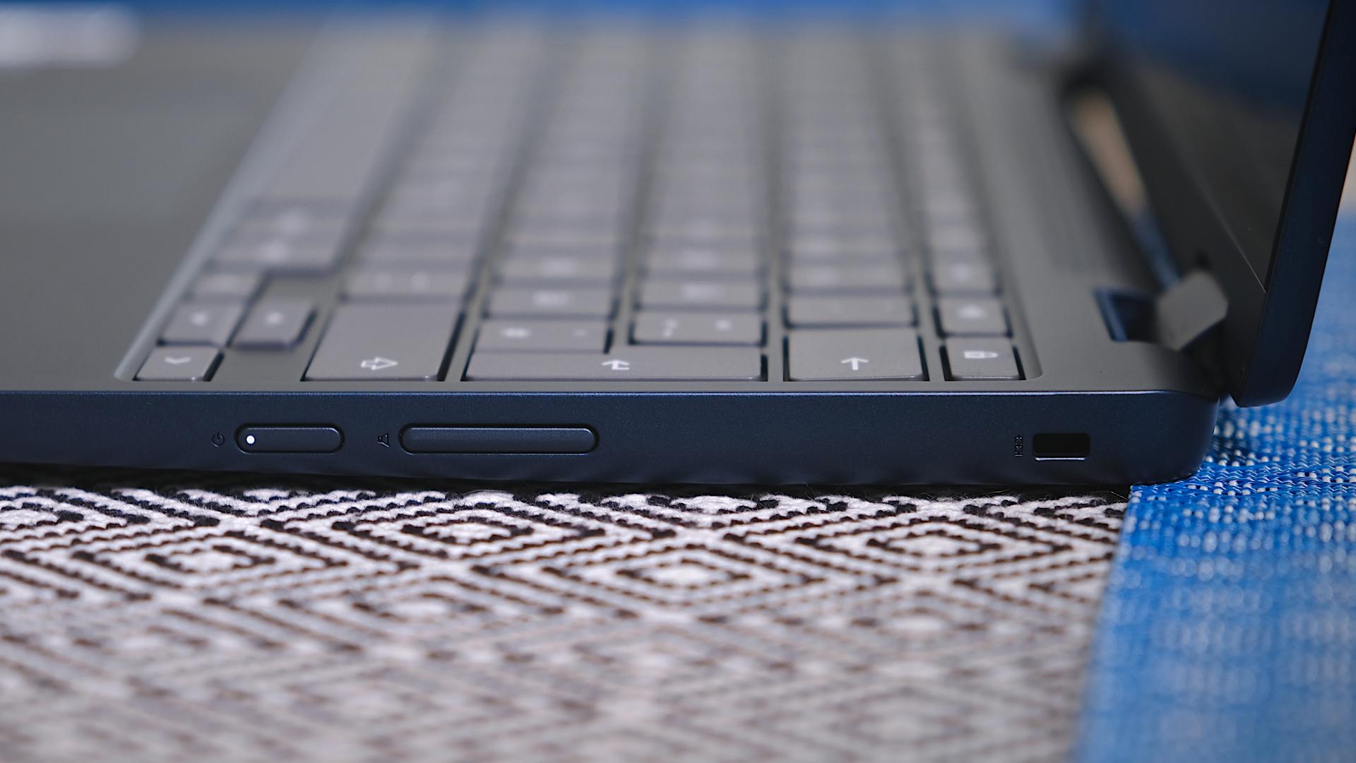 Flex 3 Chromebook volume buttons