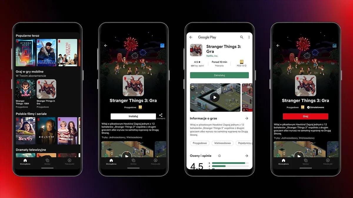 Netflix Mobile Gaming: Erster Test in Polen