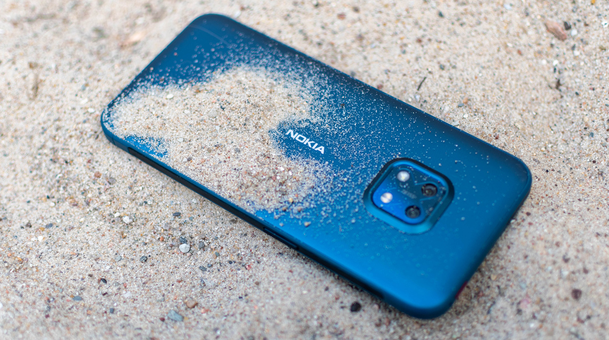 Nokia XR20 im Test: Ziemlich hart im Nehmen