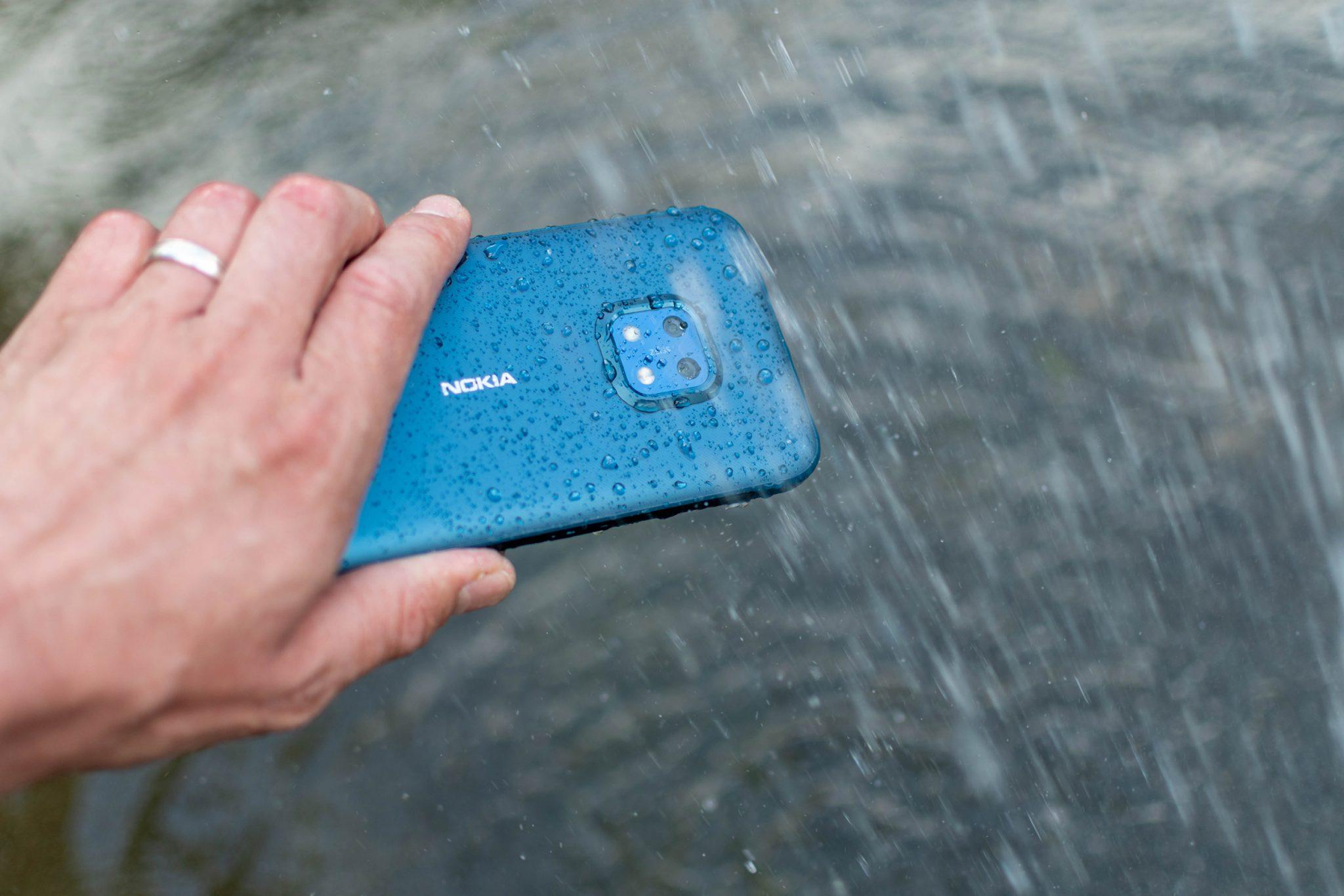 robustes smartphone: nokia xr20 im test