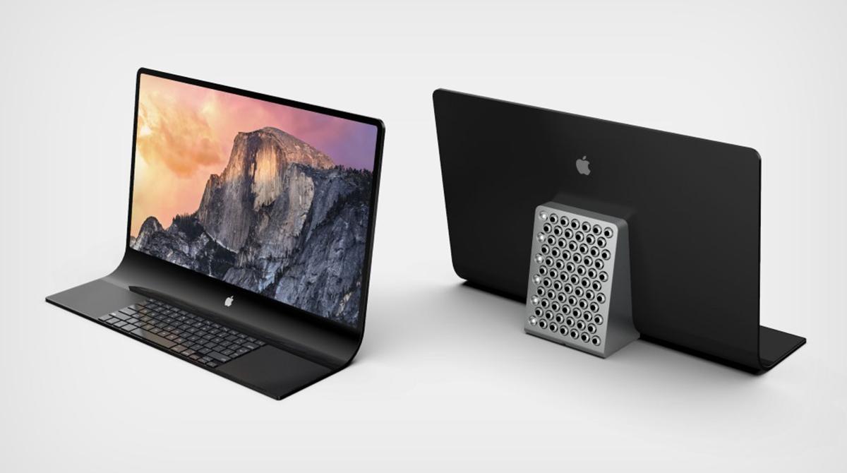 Konzept: Apple erhält Patent für iMac Pro mit gebogenem Display