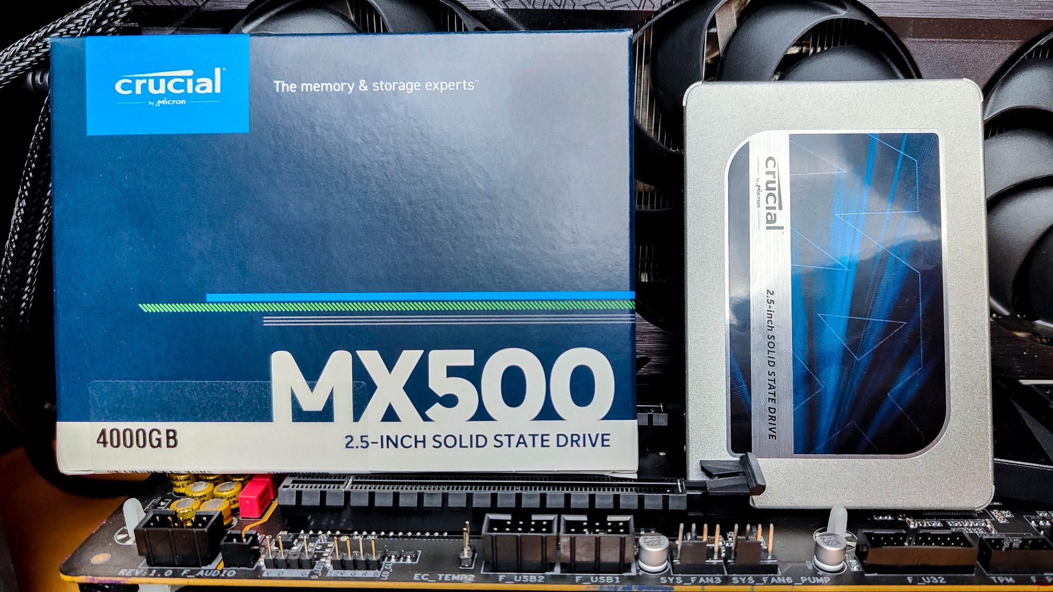 Crucial MX 500 – Der Klassiker jetzt auch in 4TB erhältlich