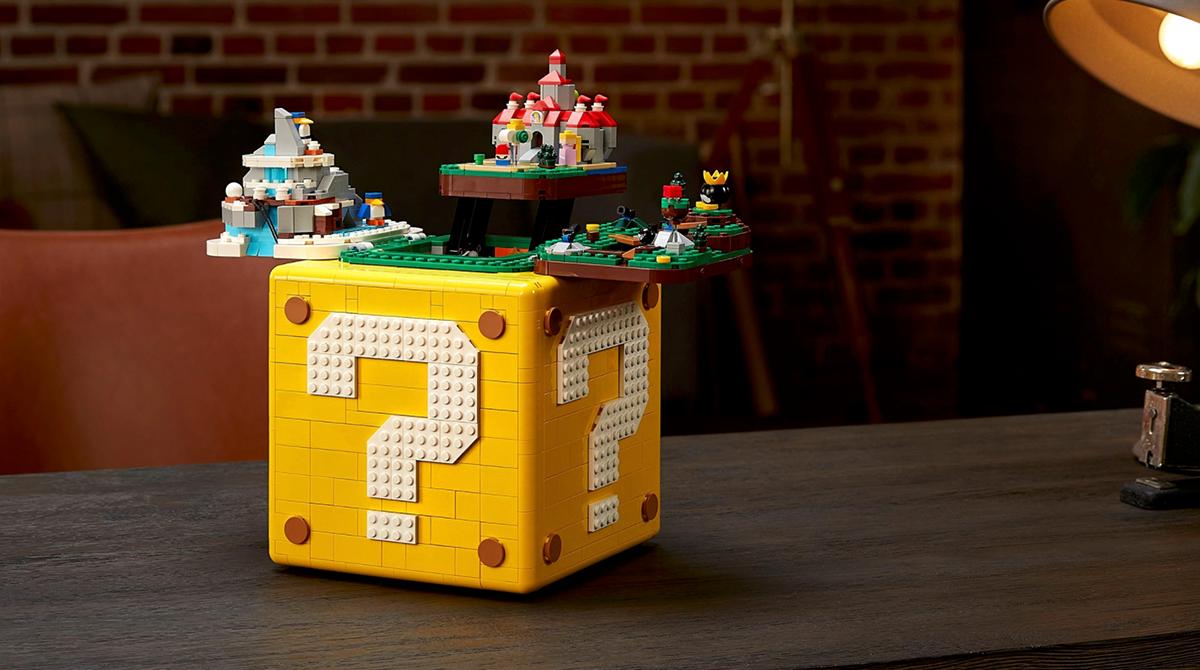 Nintendo: Das nächste große Lego-Set ist ein Super Mario 64 Block
