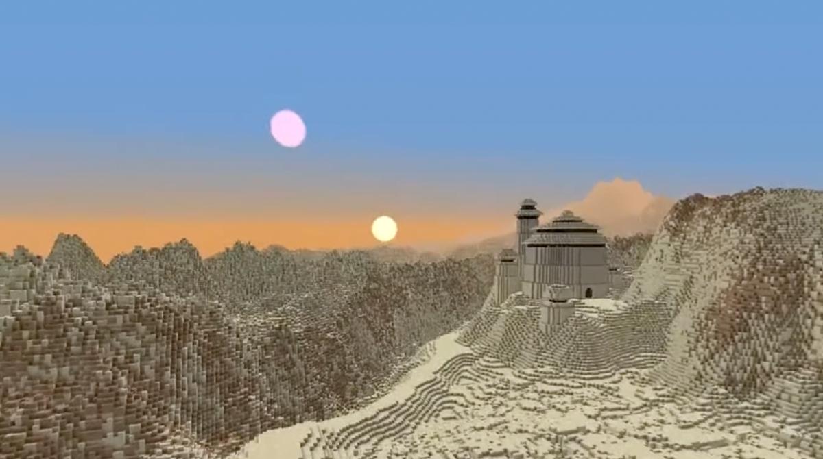 Fan baut die gesamte Star Wars-Galaxie in Minecraft nach