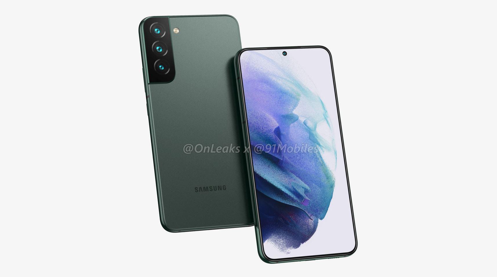Leak: Samsung Galaxy S22 – so soll es aussehen