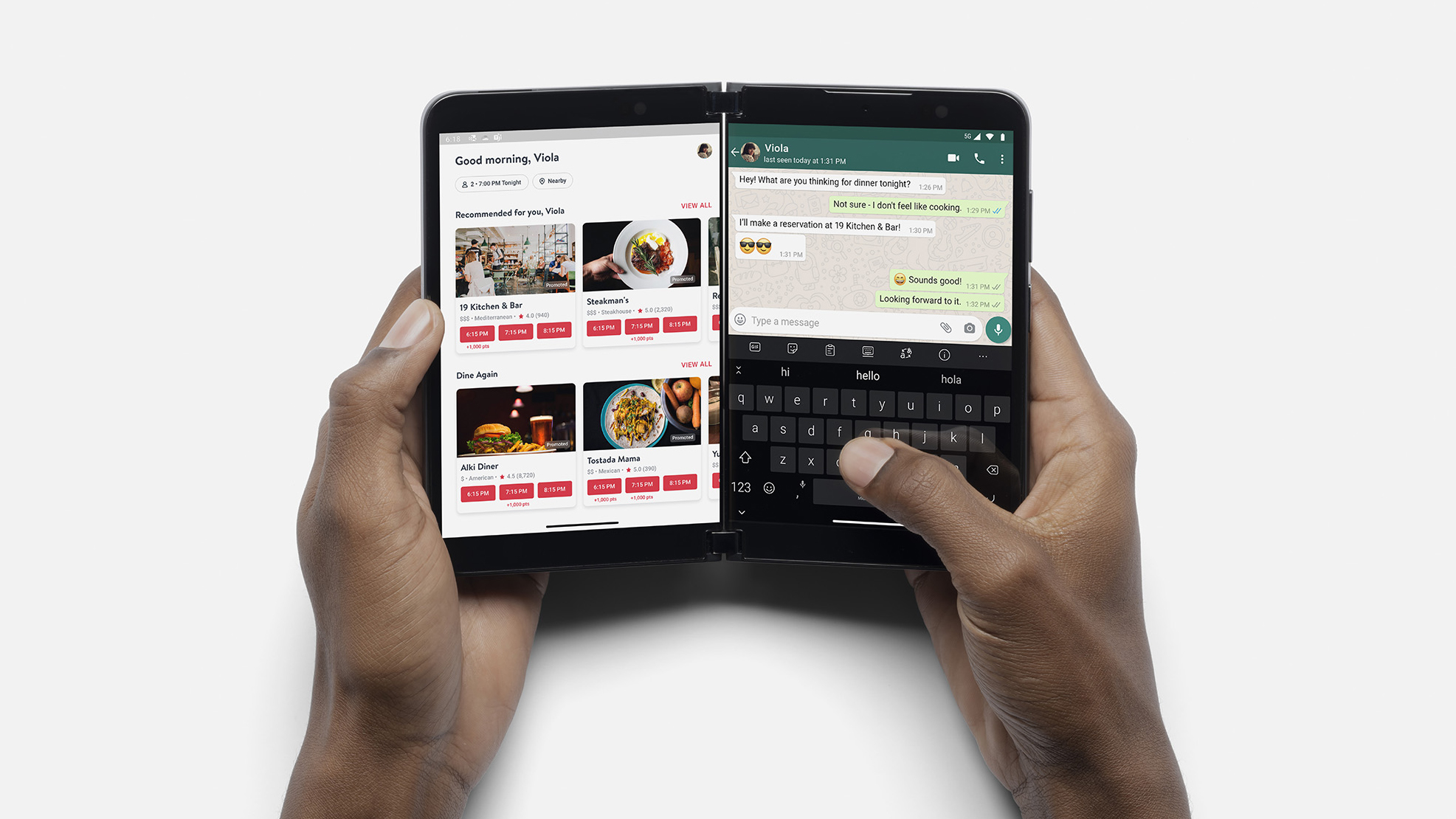 Microsoft Surface Duo 2 & Surface Go 3 vorgestellt