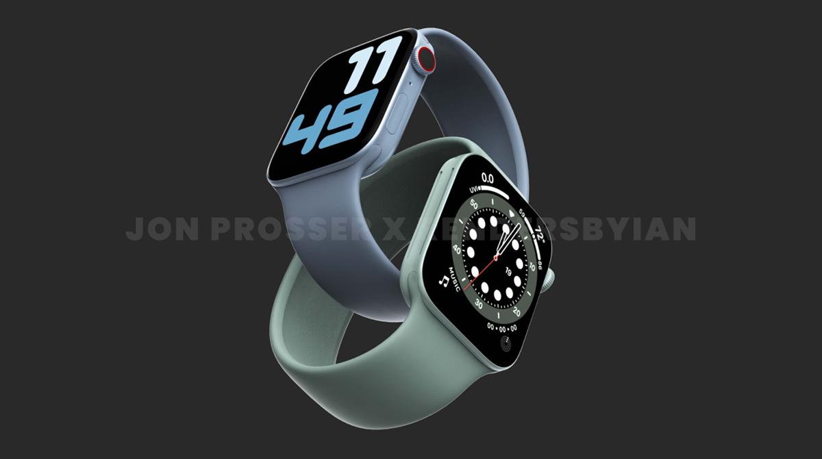 Apple Watch Series 7: So sollen die neuen Watchfaces aussehen