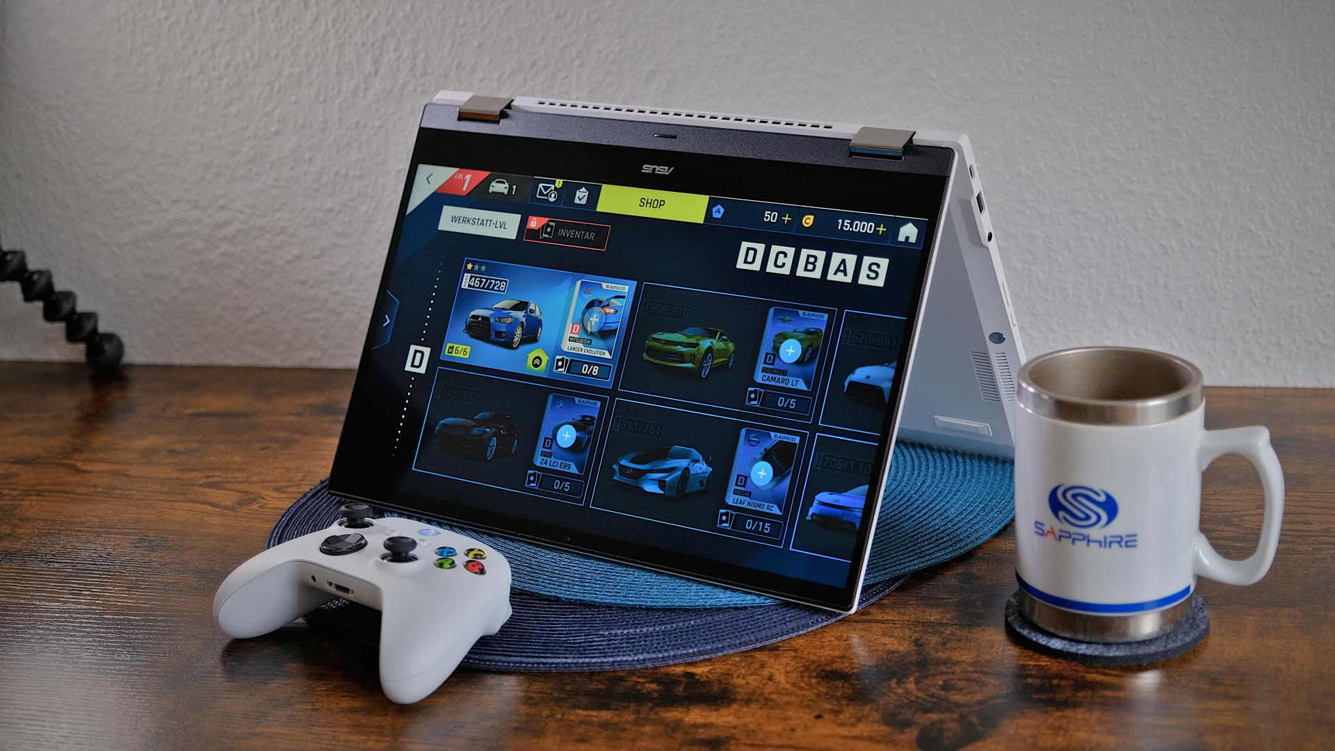 Das etwas andere Chromebook: ASUS Chromebook Flip CX5 im Test