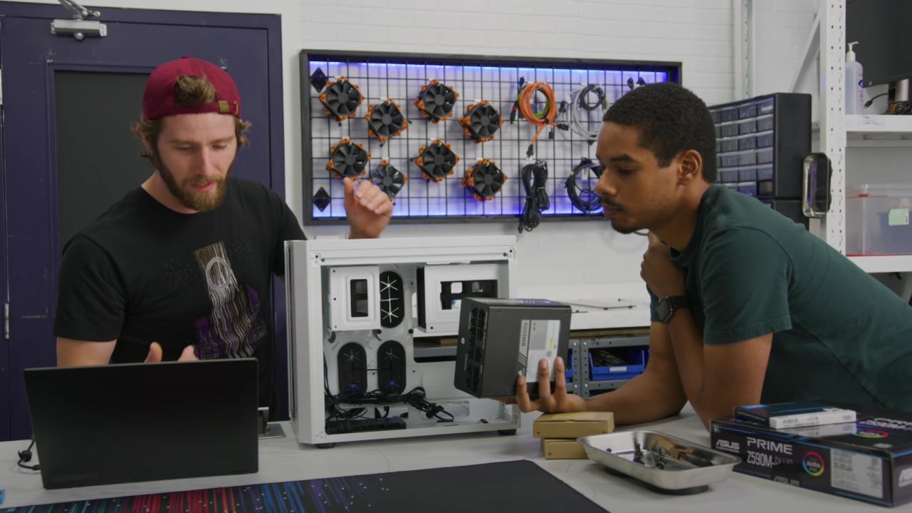 """Linus Tech Tips: Der """"The Verge PC Build""""-Typ ist zurück"""