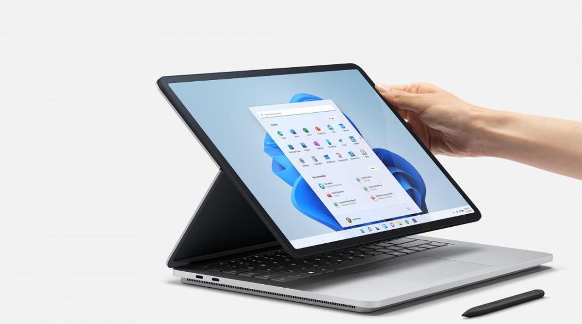 Microsoft Surface Laptop Studio: Notebook für Kreative mit flexiblem Display